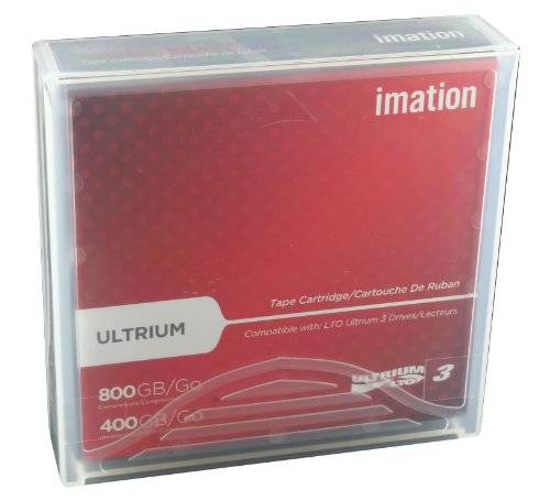 Imation IMN17532 LTO Ultrium 3 Tape Cartridge by Imation