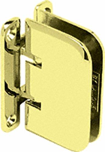 (C.R. LAURENCE EST037BR CRL Polished Brass Estate 037 Series Wall Mount Hinge)