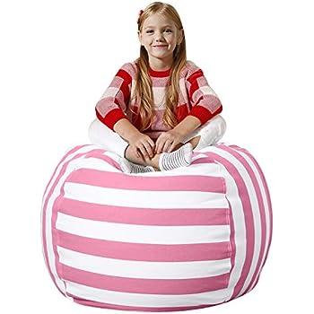 Amazon Com Aubliss Stuffed Animal Bean Bag Storage Chair