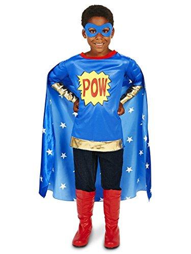 Pop Art Comic Super Hero Child Costume