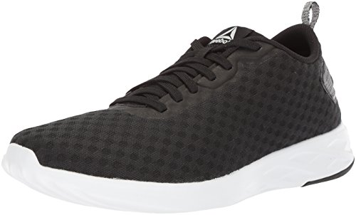 Reebok Men's Astroride Soul Cross Trainer, Black White, 11 M US