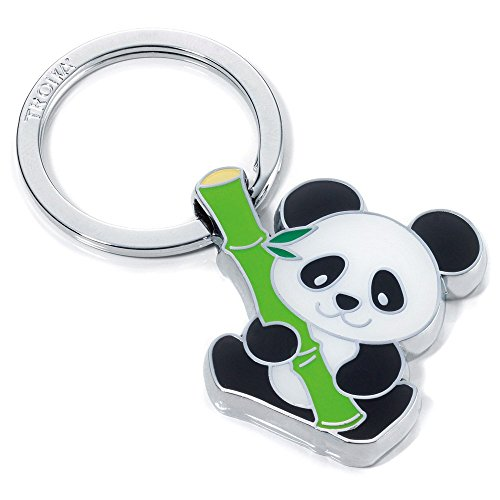 Troika Bamboo Panda Keyring (KR1003CH)