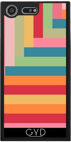 Funda Silicona para Sony Xperia XZ Premium - Juego De Colores by Yasmina Baggili