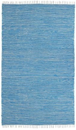 Complex Chenille Flat Weave Rug, 5-Feet by 8-Feet, Aqua (Amazon Com Home compare prices)