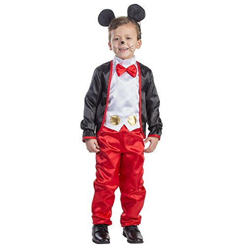 Charming Mr. Mouse Costume - Size Toddler (Micky Mouse Costumes)