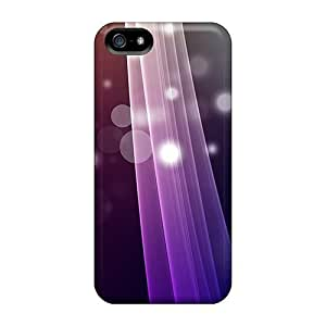 Awesome Abstract Lines Flip Case With Fashion Design For Iphone 5/5s