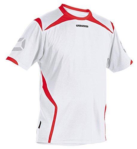 TALLA 3XL. Stanno Torino Camiseta KA (Blanco y Negro)