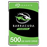 Seagate BarraCuda Mobile Hard Drive500GBSATA 6Gb/s 128MB Cache 2.5-Inch 7mm- Frustration Free Packaging (ST500LM030)