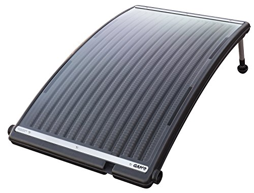Solar Pool Heater (GAME 4721 SolarPRO Curve Solar Pool Heater for Intex & Bestway Above Ground and in Ground Pools (Includes Intex Adapters))