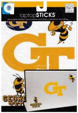 Georgia Tech Yellow Jackets 12 Premium VInyl  Decal Licensed NCAA