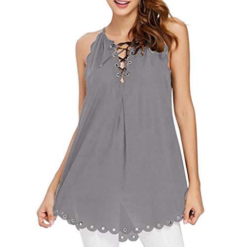 (Eaktool Women Summer Shirts for Women Vneck Shirts for Women Workout Shirts for Women)