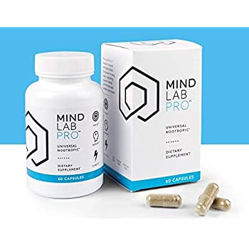 Mind Lab Pro Universal Nootropic Dietary Supplement 60 Capsules Supports  Studying, Learning,