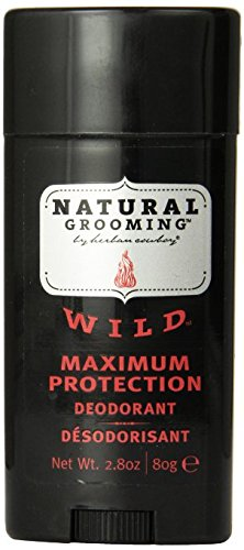 Herban Cowboy Wild Deodorant Maximum Protection, 2.8 Ounce