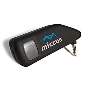 Miccus Mini-jack RTX – LOW LATENCY Bluetooth Transmitter or Receiver, perfect for adding wireless audio to TV, Home AV, Movies, PC or Gaming (Dual-Link)