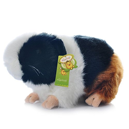Cuddly Big Soft Toys Emulation Black Guinea Pigs Doll 7