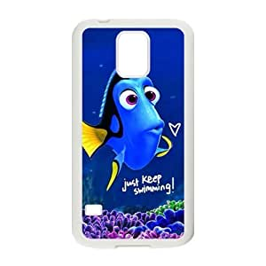Turtle Rock blue lovely fish Cell Phone Samsung Galaxy Note2 N7100/N7102