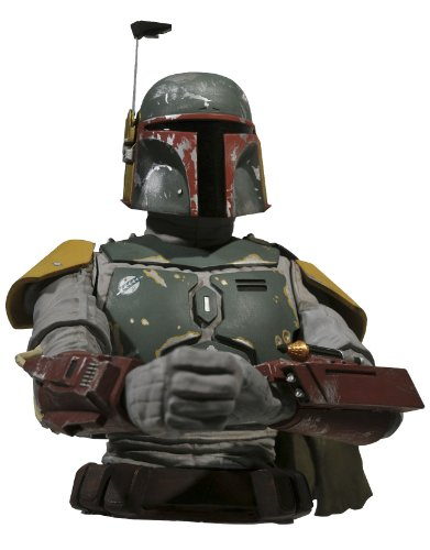 Diamond Select Star Wars: Return of the Jedi: Boba Fett Bust Bank (Darth Vader Bust Bank)