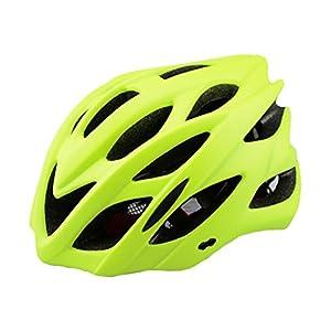 Dewuseller Damen Herren Fahrradhelm Mit Integriertes Led Rücklicht