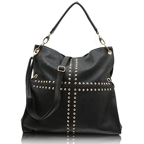 Jennifer Jones 3981, Borsa a mano donna nero nero