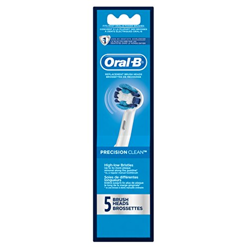 Oral-B Precision Clean Replacement Electric Toothbrush Head 5 Count