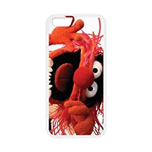 MUPPETS KERMIT PIGGY FUN 001 iPhone 6 4.7 Inch Cell Phone Case White TPU Phone Case RV_606783