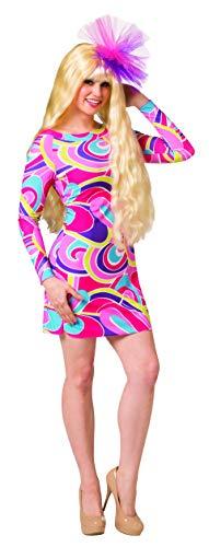 Rasta Imposta Totally Hair Barbie Doll Costume with Wig, Women