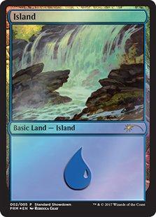 英語版 プロモーショナル グルランド Promotional Guru Land 島 Island マジック・ザ・ギャザリング mtg