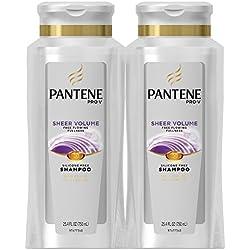 Pantene Pro-V Sheer Volume Shampoo, 25.4 Fluid Ounces (Pack of 2)