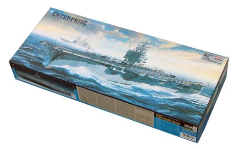 (USS Aircraft Carrier Enterprise (Plastic model) Micro Ace(Arii) 1/600 Big Scale Battleship & Aircraft Carrier by Micro Ace)