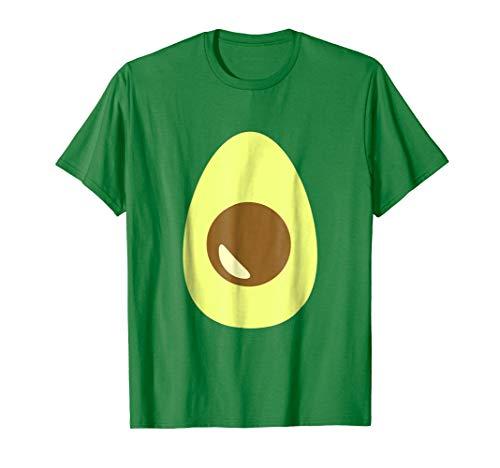 Cute Avocado Costume Shirt Easy Halloween -