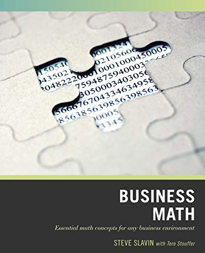 Wiley Pathways Business Math, 1E
