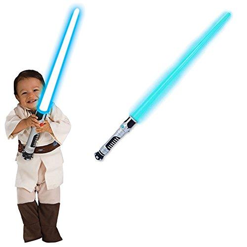 [Star Wars Obi-Wan Kenobi Toddler Costume with Lightsaber (1-2 Years)] (Obi Wan Kenobi Baby Costumes)