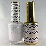 DND DC Duo Gel + Polish - 057 White Bunny