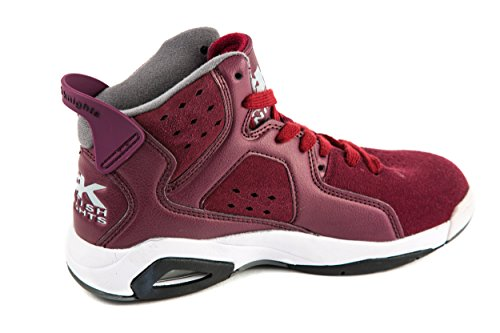 Caballeros Británicos, Sneaker Donna Rosso Rot 37