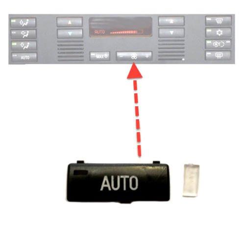 fü r 5er E39 X5 E53 Klimabedienteil Schalter Taste Auto C-P Zubehör