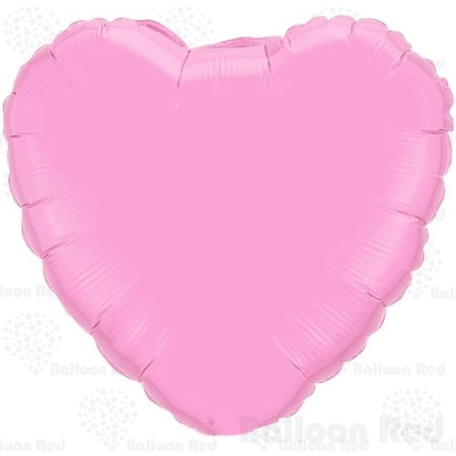 Pink Heart Mylar Balloon (18 Inch Helium Foil Mylar Balloons (Premium Quality), Pack of 12, Heart - Pink)