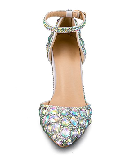 Escarpins MinitooEU Silver Argenté Minitoo MZ8299 5 36 pour Femme 9cm Heel aERqFdZdw