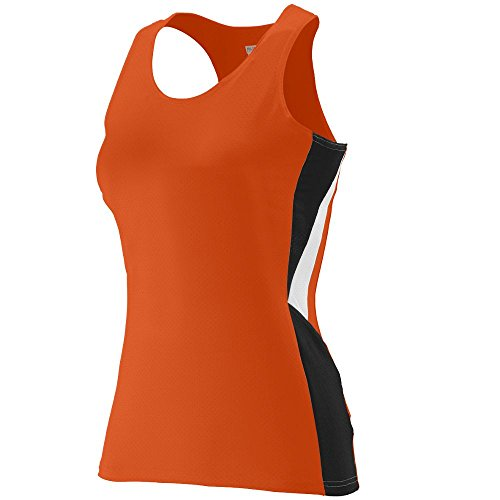 Augusta Sportswear WOMEN'S SPRINT JERSEY M Orange/Black/White