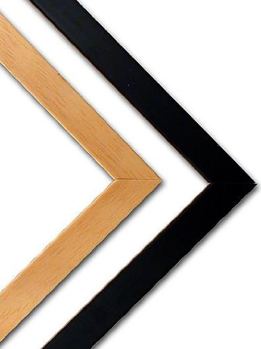 Nielsen Bainbridge Wood Frame Kits black 28 in.