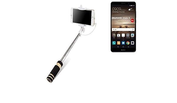 K-S-Trade Selfie Stick Palillo para Huawei Mate 9 (Dual-SIM ...