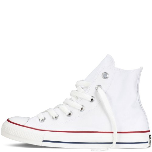 Converse Unisex Chuck Taylor All Star High Top Sneakers Optical White