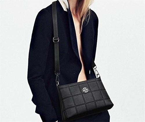 Travail Lady SHOUTIBAO Messenger Sac Simple à black à Couleurs Bag Shopping Unique Main bandoulière Cinq Sac PrfqnwdXP