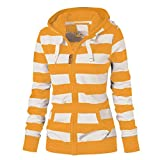 SMALLE ◕‿◕ Clearance,Hoodie for Women, Ladies Zipper Tops Hoodie Hooded Sweatshirt Coat Jacket Casual Slim Jumper