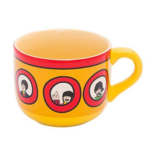 Vandor The Beatles Yellow Submarine 20-Ounce Ceramic Soup Mug (73053)