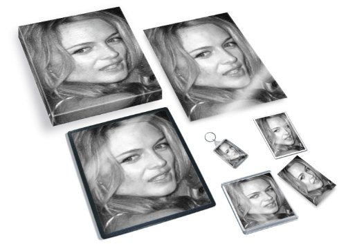 Seasons HEATHER GRAHAM - Original Art Gift Set #js008 (Includes - A4 Canvas - A4 Print - Coaster - Fridge Magnet - Keyring - Mouse Mat - Sketch Card)