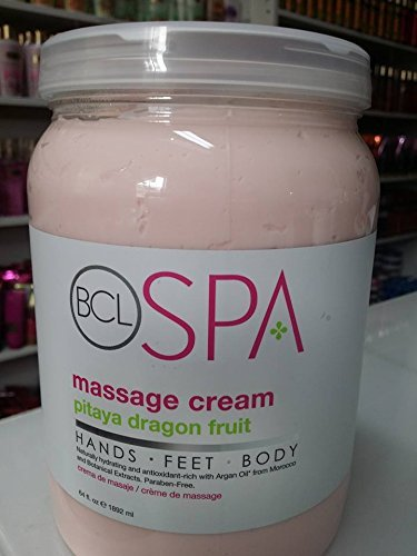 Fl Oz Massage (BCL SPA Massage Cream Pitaya Dragon Fruit 64 Fl Oz 1892 Ml)