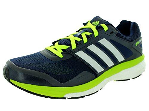 Adidas - ADIDAS - Chaussures Homme - SUPERNOVA GLIDE BOOST 7 M Noir/Jaune - pointures: 42 2/3