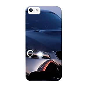Fireingrass High Grade Flexible Tpu Case For Iphone 5c - Black Bmw M3 Background( Best Gift Choice For Thanksgiving Day)