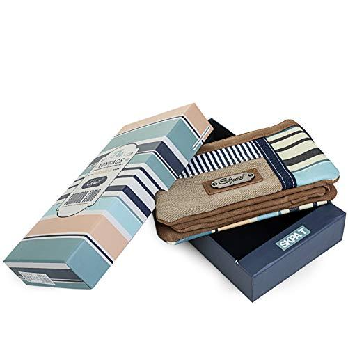 cremallera cremallera compartimentos SKPA Beige 92919 92983 con T Forro independientes bandolera ajustable Cierre con 2 Incluye Bolso Color estampado llavero 70w7Rxq