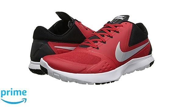 899dc2a7 Amazon.com | Nike Mens FS Lite Trainer II Cross Trainer (7.5, University Red/Black/White/Platinum)  | Shoes
